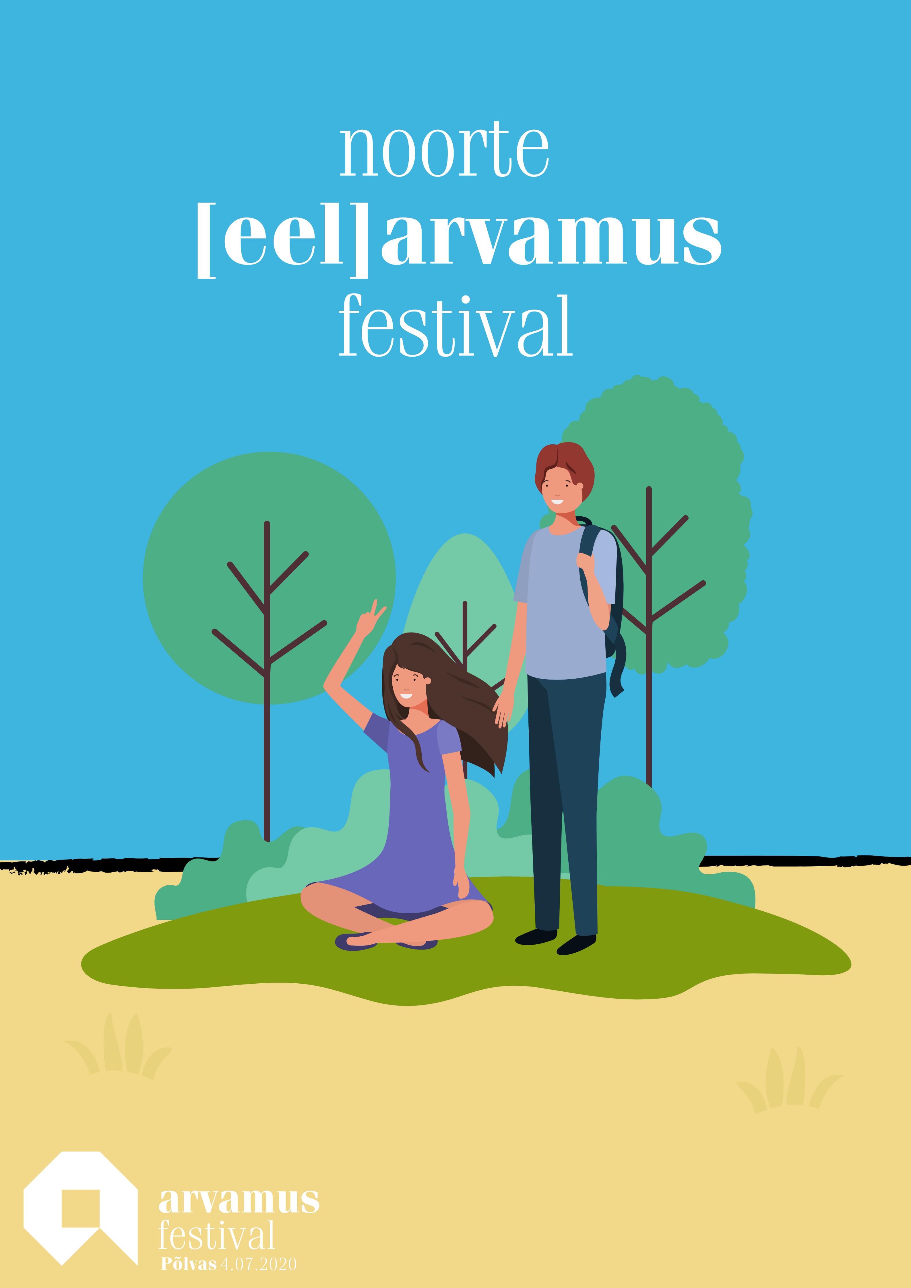 Noorte [eel]arvamusfestival Põlvas ootab aruteluideid!